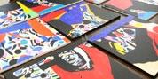 Imaxe da serie de oito lenzos dos Premios da Cultura Galega 2014