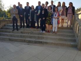 Entrega do premio de Relato Breve Nélida Piñon a Daniel Asorey