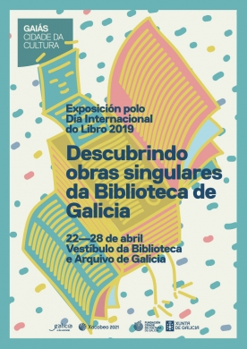 'Descubrindo obras singulares da biblioteca de Galicia', uno de los destacados delDía delLibro