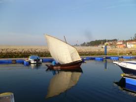 Embarcación tradicional, propia deste tipo de encontro