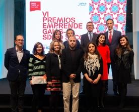 Entrega dos VI Premios Emprende Gaiás-Sixto Seco