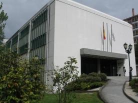 Fachada da Biblioteca Pública de Lugo