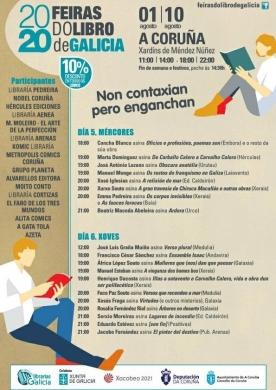 Feira do Libro da Coruña 2020 (1-10/08/2020)