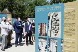 A Xunta impulsa a figura do arquitecto Domingo de Andrade cunha mostra itinerante que arranca na Alameda de Santiago