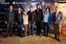 Román Rodríguez pon en valor o talento do audiovisual galego na presentación do filme 'O que arde'
