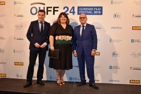Román Rodríguez asiste á clausura da 24ª edición do OUFF, festival de referencia para afeccionados e profesionais do cine