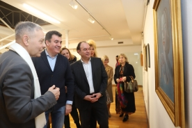 O conselleiro de Cultura e o alcalde de Lalín inauguran unha mostra sobre o período arxentino de Maruja Mallo e Luís Seoane
