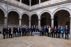 O presidente da Xunta participou na clausura do Consello de Patrimonio Histórico