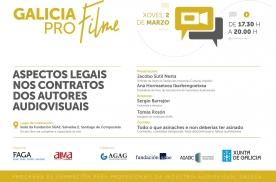 A Agadic organiza o 21 de marzo na súa sede da Cidade da Cultura unha nova sesión deste ciclo formativo para profesionais da industria audiovisual galega