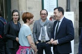Román Rodríguez asiste á estrea da obra 'Martes de Carnaval'