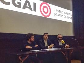 El director de la Agencia Gallega de las Industrias Culturales (Agadic) y el concejal de Culturas de la ciudad herculina firmaron hoy un convenio por lo que la filmoteca gallega mantiene su localización