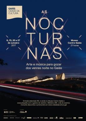 As Nocturnas, música e arte para os venres noite de outubro