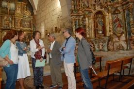 O retablo da igrexa de San Pedro de Cudeiro xa está totalmente restaurado