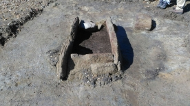 Comezan as escavacións nas cistas de Punta Riasón, na Illa de Arousa