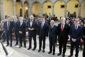 El titular del Gobierno gallego presidió el acto de conmemoración del XXX Aniversario de la Declaración del Camino de Santiago como Itinerario Cultural Europeo