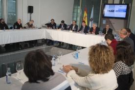 O conselleiro de Cultura, Román Rodríguez, presidiu a primeira xuntanza de traballo para a planificación da acción cultural da comunidade para os vindeiros catro anos