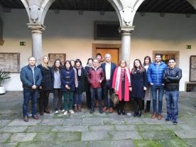 O Centro Ramón Piñeiro para a Investigación en Humanidades (CRPIH), dependente da Secretaría Xeral de Política Lingüística, deulle hoxe a benvida aos oito novos bolseiros