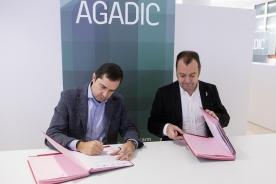 Agadic renueva en 2018 su apoyo a la Academia Galega do Audiovisual