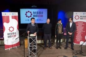 El conselleiro de Cultura, Educación y Ordenación Universitaria, Román Rodríguez, presentó hoy la nueva programación de la Rede Galega de Música ao Vivo