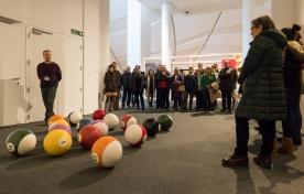 Galicia universal. A arte galega nas coleccións Abanca e Afundación recibe más de 7.000 visitas en solo un mes de exhibición