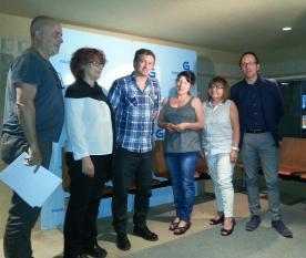 A Radio Galega e a Consellería de Cultura, Educación e Ordenación Universitaria entregaron hoxe os galardóns do VIII Premio Diario Cultural de Teatro Radiofónico.