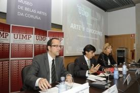 Anxo Lorenzo en 'Arte e emocións', un encontro promovido pola Universidade Internacional Menéndez Pelayo (UIMP)