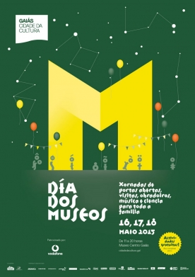 Cartel conmemorativo do Día Internacional dos Museos