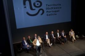Xesús Vázquez Abad presenta no Salón Teatro compostelán o 'Proxecto Nós', que promoverá o desenvolvemento dos sistemas teatrais de Galicia e de Portugal