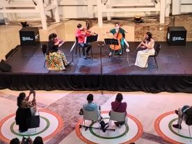 O Gaiás continúa os concertos das 'Matinais Clásicas' coa música de cámara para clarinete e trío de cordas De M. Sancho Quartet