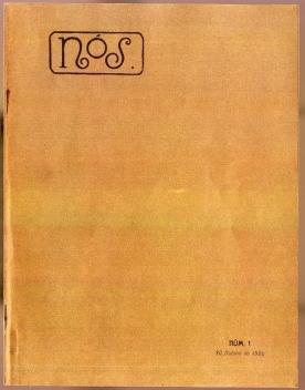 Portada do primeiro número da revista Nós, publicado o 30 de outono de 1920
