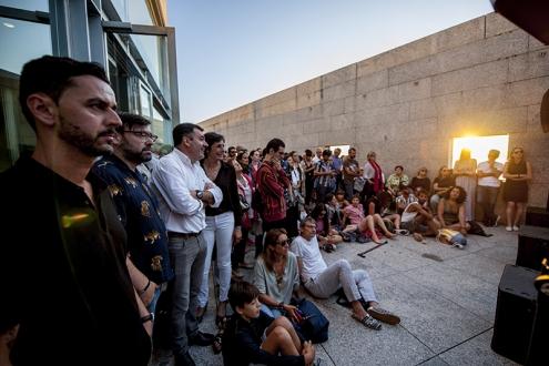 Román Rodríguez destaca el compromiso de la Xunta con la escena musical de Vigo en la cuarta jornada de 'Solores do Museo'