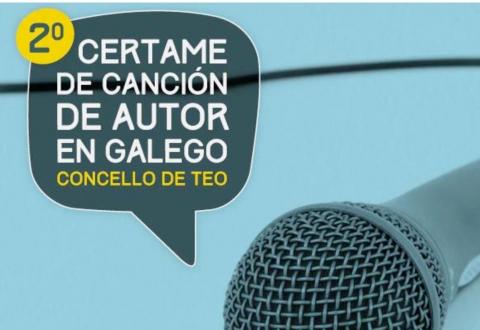 Segunda edición do Certame de Canción de Autor en Galego