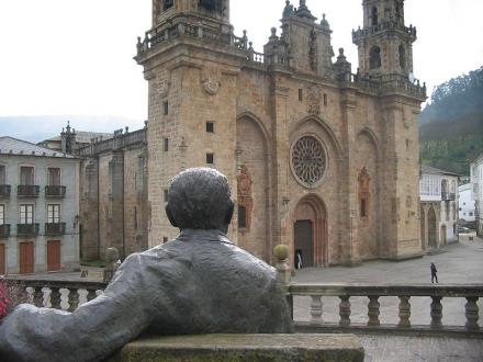 Álvaro Cunqueiro e Mondoñedo, unha guía literaria para percorrer a cidade natal do autor do Merlín | Foto Wikipedia