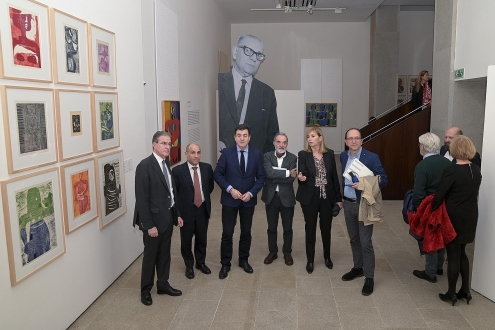 Román Rodríguez sinala a Luis Seoane como un referente plástico e intelectual indiscutible para a cultura galega