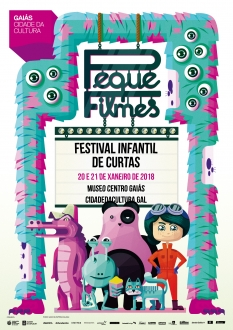 A Cidade da Cultura de Galicia volverá celebrar a fin de semana do 20 e 21 de xaneiro de 2018 o festival infantil de curtas 'PequeFilmes'