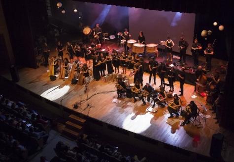 O Gaiás festexa mañá o Día da Música cun concerto ao aire libre de SondeSeu, unha das primeiras orquestras folk europeas